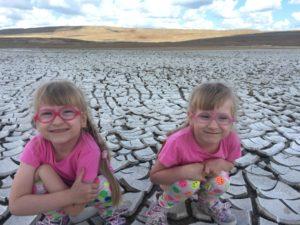 Двойняшки Крым Булганакские грязевые вулкана