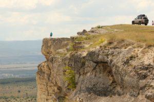 Крым белая скала уаз